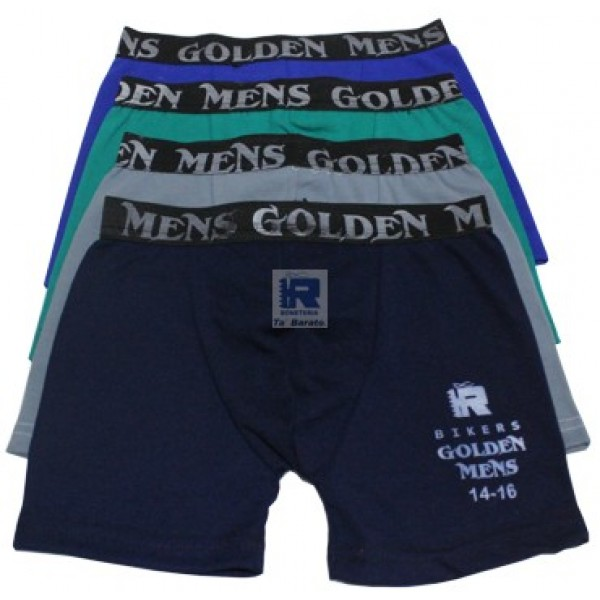 Biker Golden Mens Juv